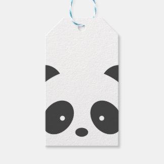 De Labels van de Gift van de panda Cadeaulabel