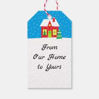 """De Labels van de Gift """"van het Huis van de Cadeaulabel"""