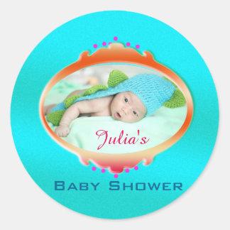 De Labels van de Sticker van het Baby shower van
