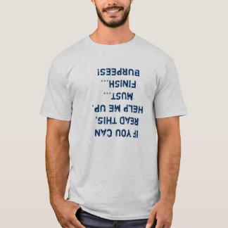 de ladder van 100 dagburpee t shirt