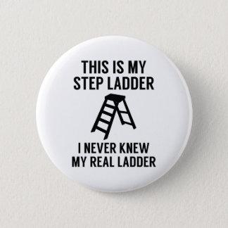 De Ladder van de stap Ronde Button 5,7 Cm