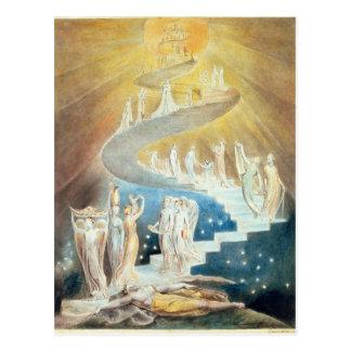 De Ladder van Jacob Briefkaart