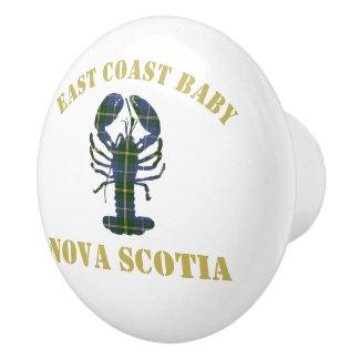 De ladetrekkracht van de Zeekreeft van Nova Scotia Keramische Knop