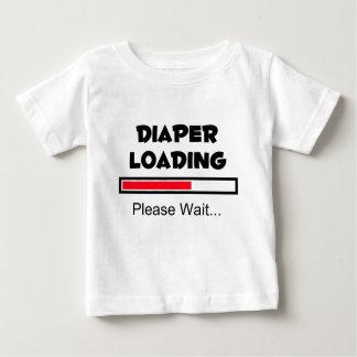 De Lading van de luier - te wachten gelieve… Baby T Shirts