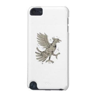 De Lage Veelhoek van het Symbool van Glifo Eagle iPod Touch 5G Hoesje