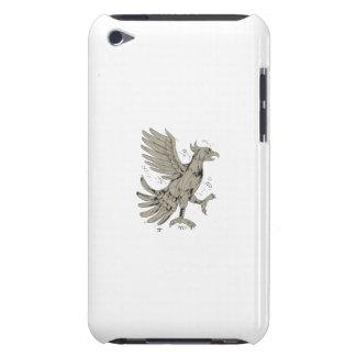 De Lage Veelhoek van het Symbool van Glifo Eagle iPod Touch Hoesje