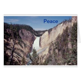 De Lagere Herfsten van de vrede notecard Briefkaarten 0