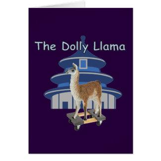 De lama van de Dolly Kaart