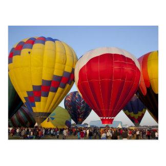 De lancering van hete luchtballons 2 briefkaart