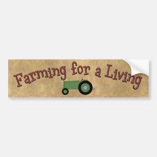 De landbouw voor een het Leven Sticker van de Bump