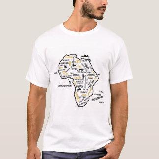 De landenT-shirt van Afrika T Shirt