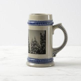 De lange Mok van de Koffie van de Winter