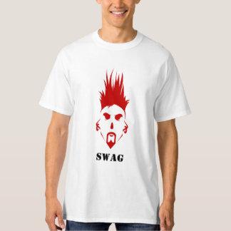 De Lange T-shirt Hanes van het Mannen SWAG