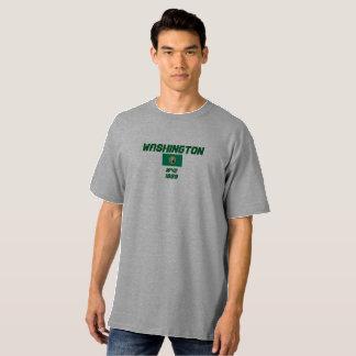 De Lange T-shirt van Hanes van de Vlag van