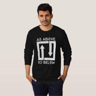 De lange Zwarte van het Sleeve AASB T Shirt