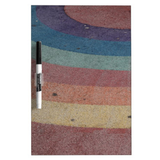 De langzaam verdwenen Waaier van de Regenboog Dry Erase Whiteboard