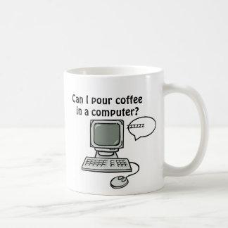 De langzame Mok van de Computer