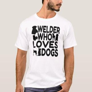De Lasser van het hondenliefhebber T Shirt