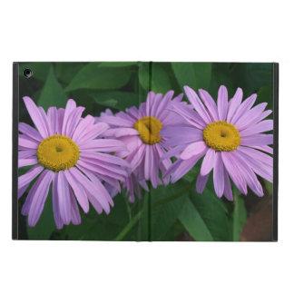 De lavendel kleurde Geschilderde Madeliefjes iPad Air Hoesje