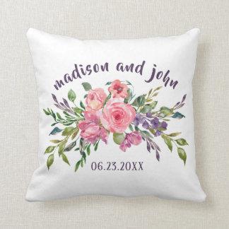De Lavendel van de Datum van het huwelijk en Roze Sierkussen