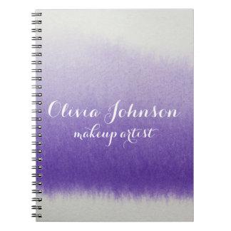 De Lavendel van de Waterverf van de Kunstenaar van Notitieboek