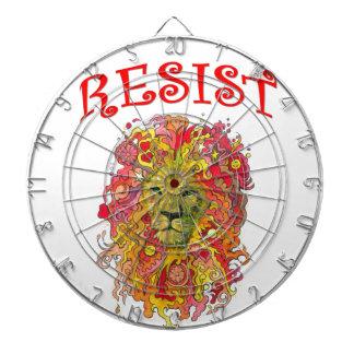De Leeuw van de weerstand Dartbord