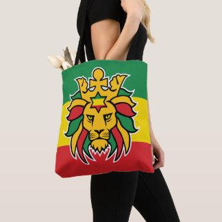 De Leeuw van Dreadlocks van Rastafari van Judah Draagtas