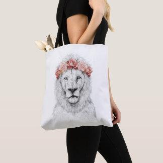 De leeuw van het festival draagtas