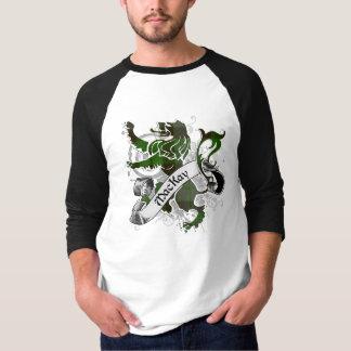 De Leeuw van het Geruite Schotse wollen stof van T Shirt