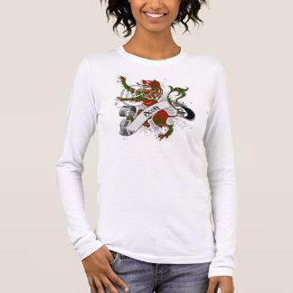 De Leeuw van het Geruite Schotse wollen stof van T Shirts