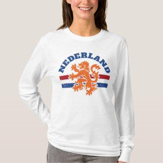 De Leeuw van Nederland en Nederlandse Vlag T Shirt