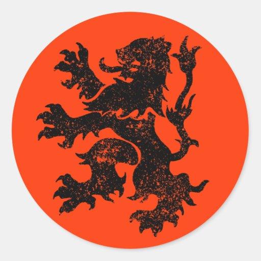 De Leeuw van Nederland Sticker