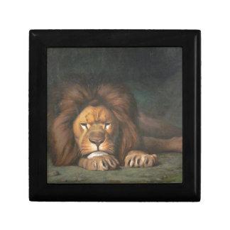 De Leeuw van Nominor door Jean-Leon Gerome Decoratiedoosje