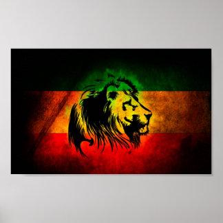 De Leeuw van Rasta Poster