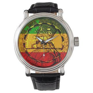 De Leeuw van Rasta van Horloge Geassorteerd Design
