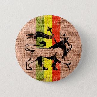 De leeuwkoning van Reggae Ronde Button 5,7 Cm