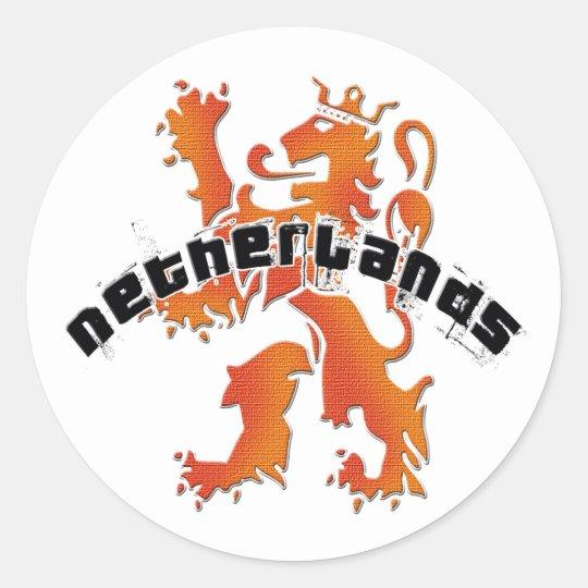 De leeuwlogo van Nederland Ronde Stickers