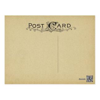 De lege Achtergrond van het Perkament van het Briefkaart