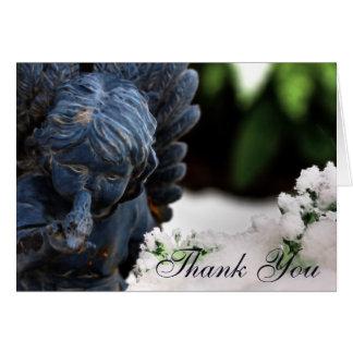 De lege Douane dankt u Engel Kaart