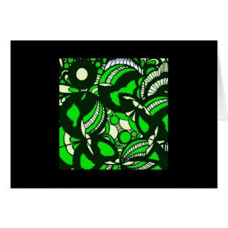 De lege Kaart van de Nota (Groene Bellen)