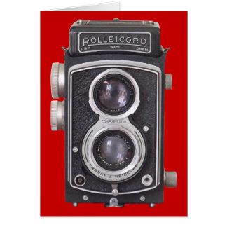 De Lege Kaart van de vintage Camera