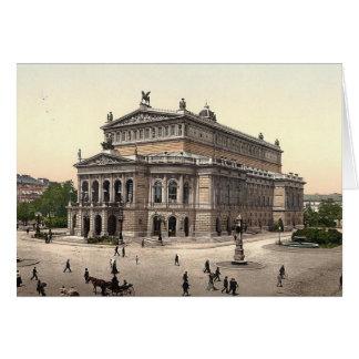 De Lege Kaart van het Huis van de Opera van het