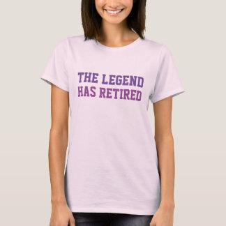 De legende heeft Purples teruggetrokken T Shirt
