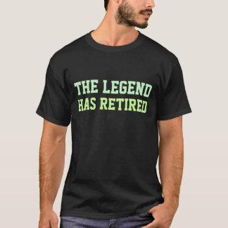 De legende heeft zich teruggetrokken t shirt