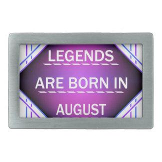 De legenden zijn geboren in Augustus Gespen