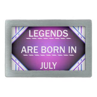 De legenden zijn geboren in Juli Gesp