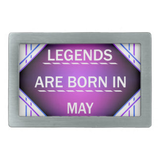 De legenden zijn geboren in Mei Gespen