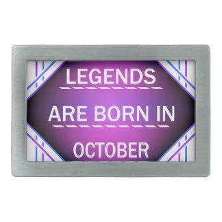 De legenden zijn geboren in Oktober Gespen