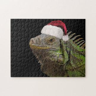 De Leguaan van de kerstman Puzzel