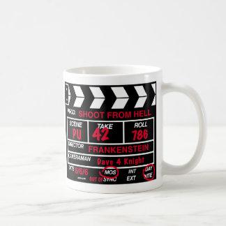 De Lei van de Camera van de Film Koffiemok